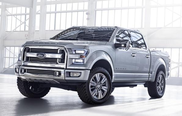 Картинка Concept, Ford, Форд, передок, Атлас, Atlas