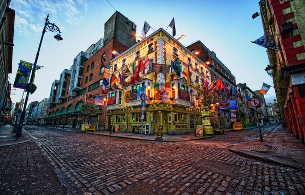 Картинка city, город, Ireland, Dublin