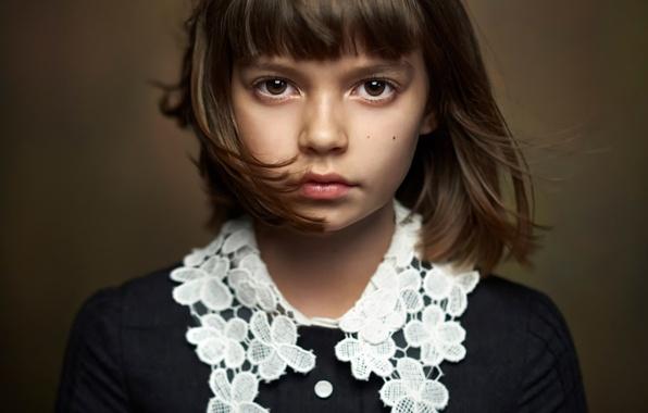 Картинка портрет, девочка, кареглазая, Alexander Vinogradov, beautiful portrait
