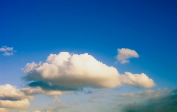 Картинка небо, синий, Облако