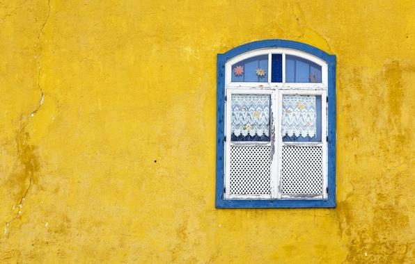 Картинка дом, стена, окно