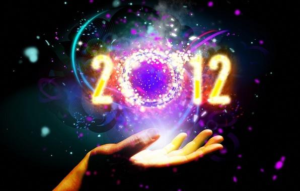 Картинка рука, 2012, год, новый