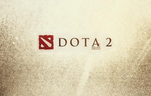 Картинка игры, эмблема, текстуры, valve, dota 2, клапан