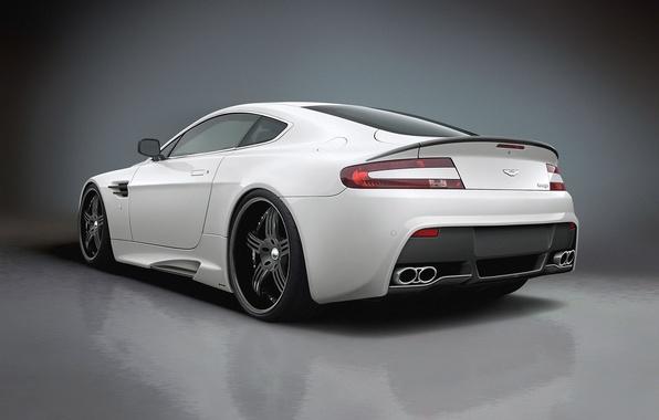 Картинка белый, Aston, martin