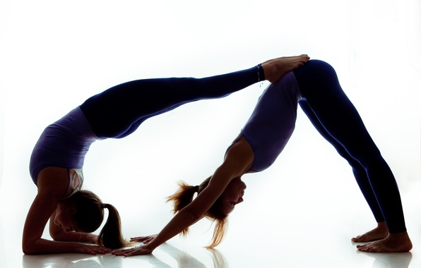 Обои девушка, гимнастика, шпагат, растяжка, girl, splits