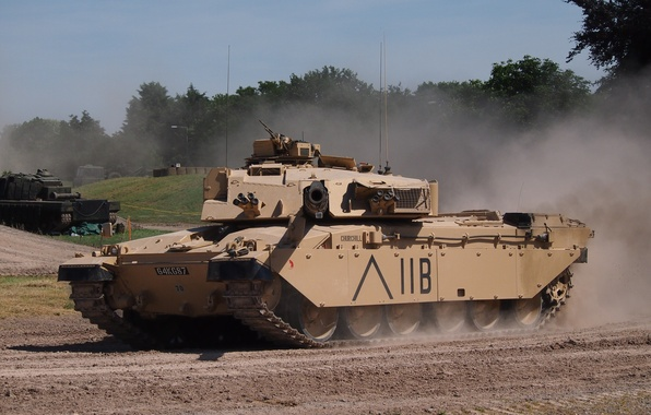 Картинка танк, НАТО, ОБТ, Challenger 1
