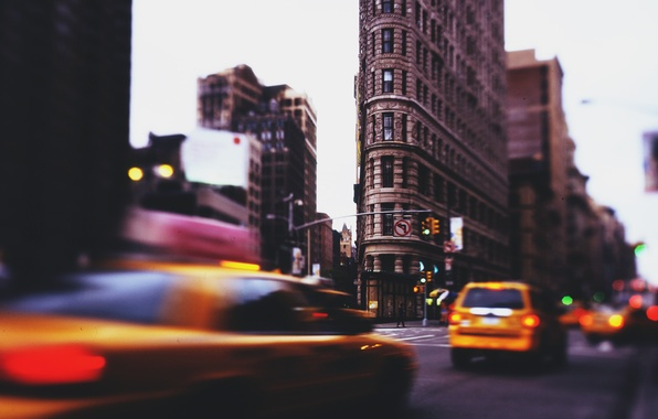 Картинка taxi, нью йорк, nys