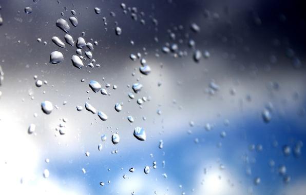 Картинка небо, стекло, капли, photographer, Alex Bazilev