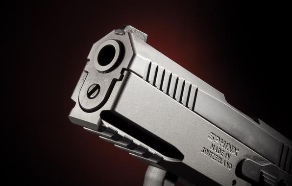 Картинка пистолет, Сфинкс, самозарядный, Sphinx