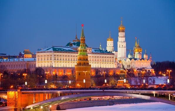 Картинка city, Москва, Кремль, Россия, Russia, Moscow, Kremlin