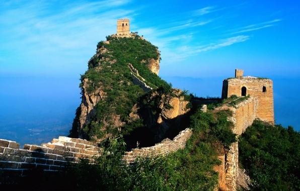 Картинка China, Стена, Китай, wall, World