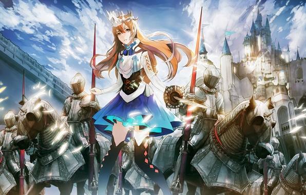 Рицари девушка фото