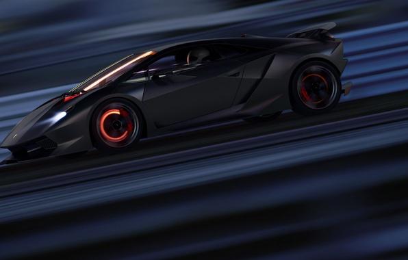 Картинка Lamborghini, Скорость, Суперкар, Supercar, Elemento, Sesto, Тормоза