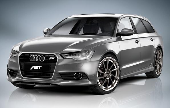 Картинка Audi, ауди, 2011, ABT, универсал, Avant, AS6, авант