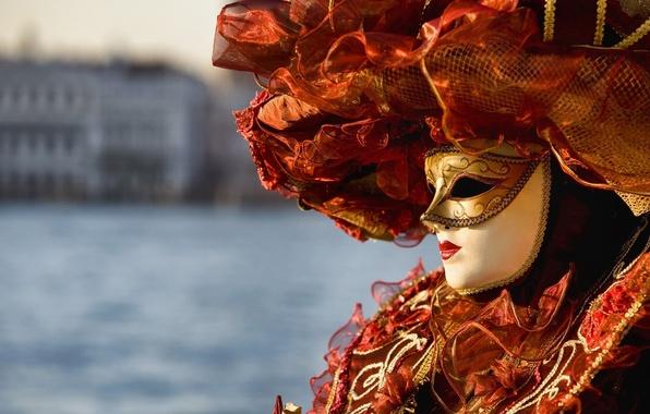 Картинка маска, Венеция, наряд, карнавал, Venice, Venezia