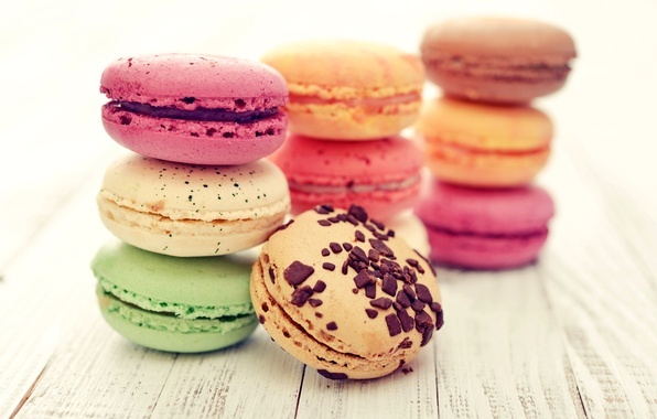 Картинка печенье, крем, десерт, выпечка, миндаль, macaron, макаруны