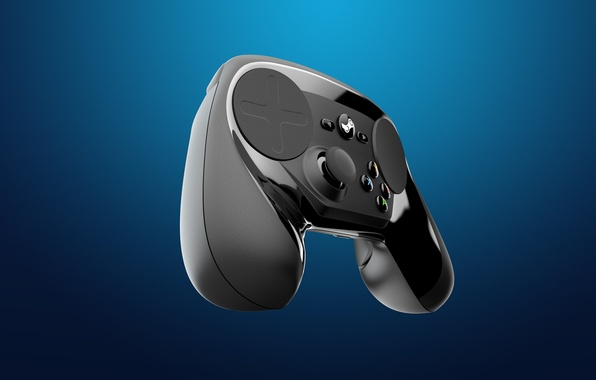 Картинка Valve, геймпад, gamepad, контроллер, Steam, стим, SteamController, Steam Machine, Controller, Steam OS, Steam Box, стимпад
