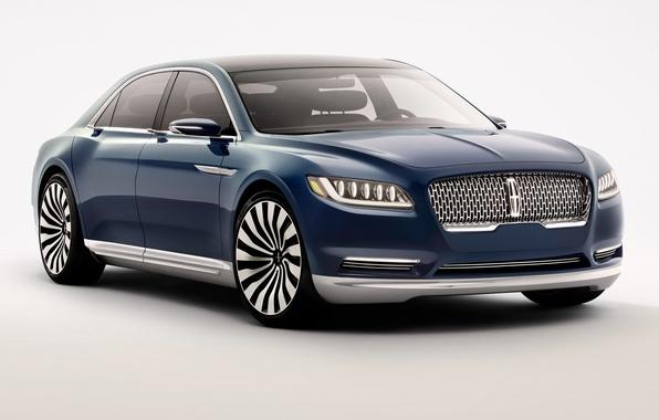 Картинка Lincoln, Concept, Continental, континенталь, линкольн, 2015