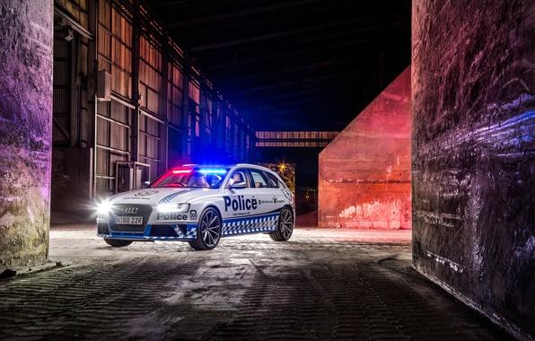 Фото обои 2015, Police, Avant, RS 4, ауди, полиция, Audi