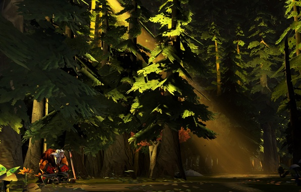 Картинка Dota 2, Juggernaut, Yurnero, Медитация