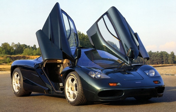 Картинка фон, McLaren, двери, МакЛарен, суперкар.гиперкар, зелёный.передок, XP5