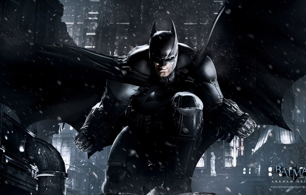 Картинка снег, игры, batman, бэтмен, темный рыцарь, games, готэм, комикс, comics, dark knight, bruce wayne, batman: …