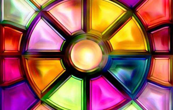 Картинка фон, abstract, витраж, glass, background, colored, stained