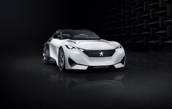 Картинка Concept, концепт, Peugeot, пежо, Fractal, 2015