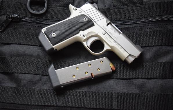 Картинка пистолет, оружие, Kimber, Micro 380