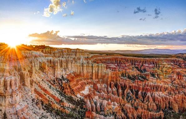 Картинка USA, США, Bryce Canyon National Park, State Utah, Национальный парк Брайс-Каньон, Штат Юта