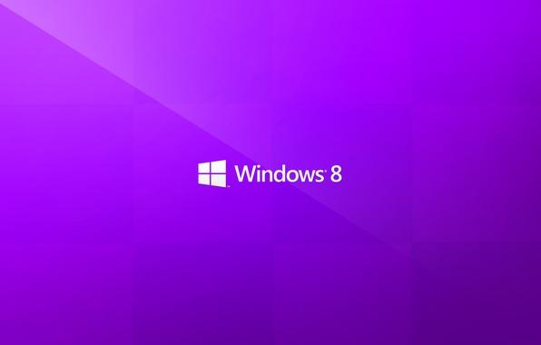 Картинка надпись, минимализм, логотип, windows, пурпурный, purple