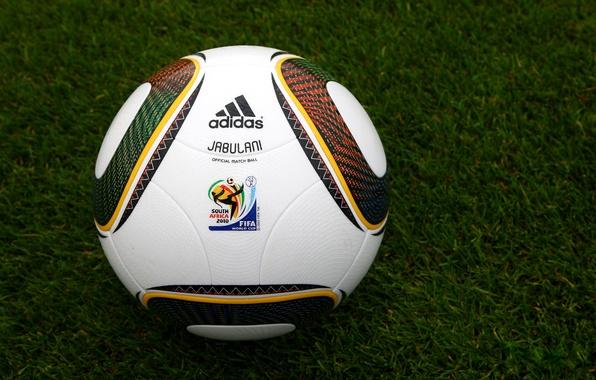 Картинка Фото, Трава, Мяч, World, 2010, Газон, Africa, Cup, Fifa, Jabulani, South