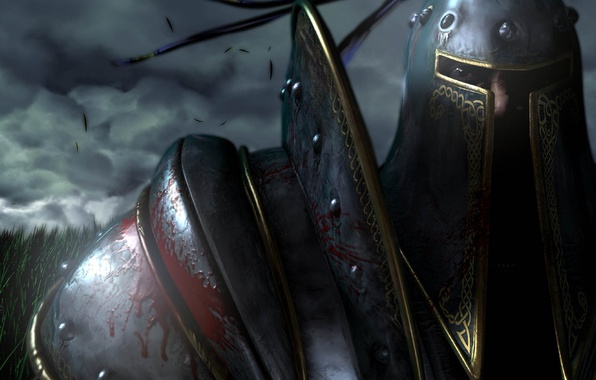 Картинка игра, доспехи, пехотинец, компьютерная, Warcraft 3, военное ремесло, human, Reign of Chaos, RPG, жанре, элементами, …