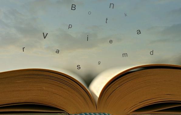 Картинка буквы, книга, Escape