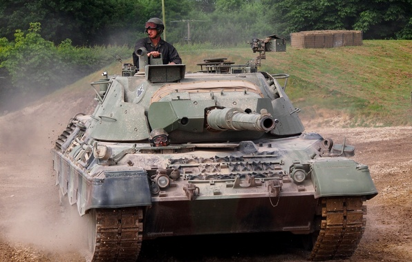 Картинка танк, Leopard, версия, канадская, танка, Leopard 1, немецкого, модернизации, C2 MBT