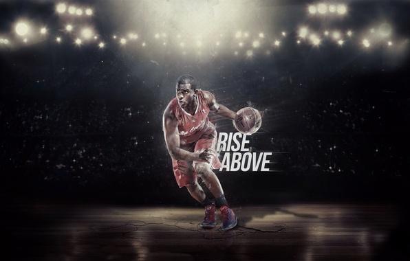 Картинка Мяч, Свет, Баскетбол, Форма, NBA, Игрок, Paul Rise