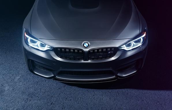 Картинка BMW, Light, Car, Front, Bridge, Parking, Mode, Carbone