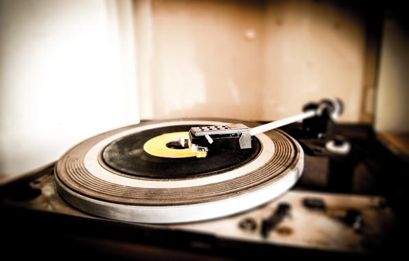 Картинка sound, vinyl, record player