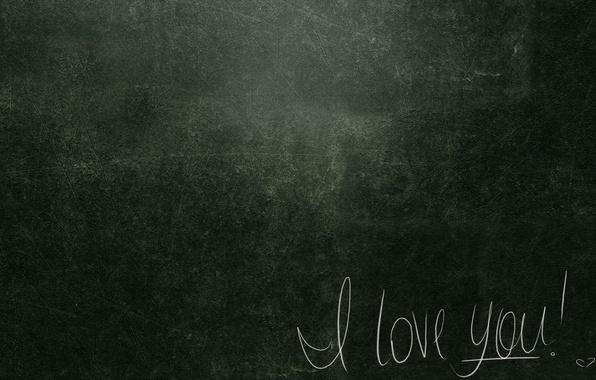 Картинка линии, буквы, фон, стена, надпись, шрифт, сердечко, я тебя люблю, признание, i love you, фактура