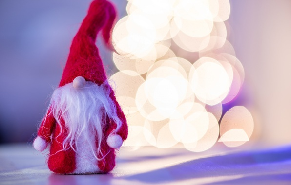 Картинка фон, праздник, игрушка, новый год