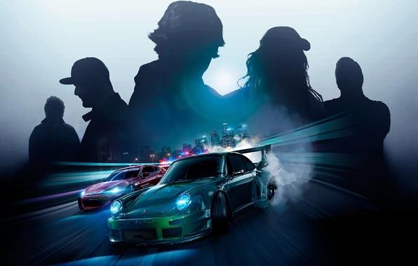 Картинка Porsche, Subaru, nfs, Ken Block, BRZ, нфс, Need for Speed 2015, this autumn, RWB Porsche …