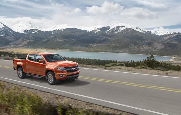 Фото обои 2015, Diesel, Duramax, Colorado, Crew Cab, шевроле, Chevrolet, Z71, колорадо