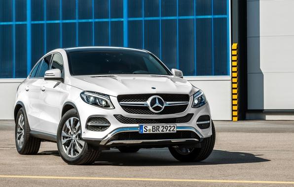 Картинка купе, Mercedes-Benz, мерседес, AMG, Coupe, 4MATIC, 2015, C292, GLE 450