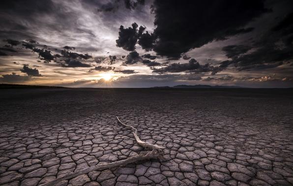 Картинка небо, ночь, пустыня