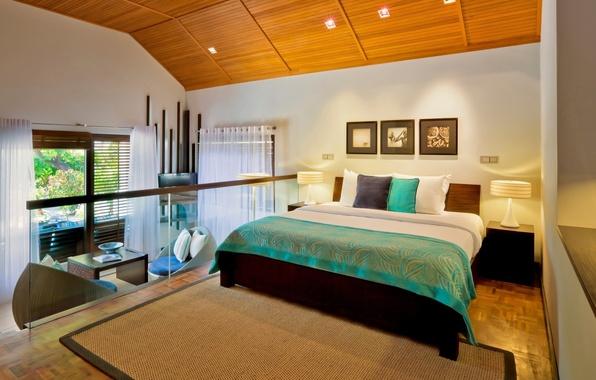 Картинка room, interior, bed