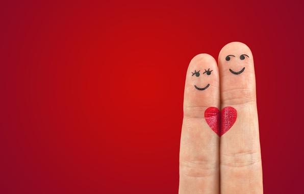 Картинка любовь, романтика, сердце, пальцы, love, День святого Валентина, heart, Valentine's Day, romance, fingers