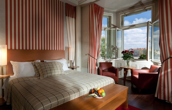 Картинка дизайн, дом, стиль, комната, интерьер, Прага, отель