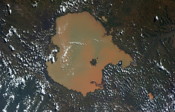 Картинка Earth from space, Ethiopia, Lake Tana