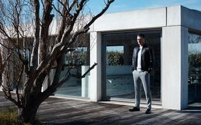 Картинка куртка, костюм, актер, фотосессия, Luke Evans, Люк Эванс, Matt Holyoak, Article
