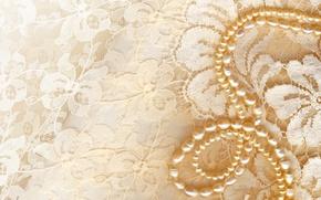 Картинка украшения, золото, бусы, разное